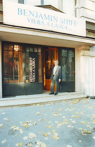 Entrance To The National Museum, Bratislava, 2002